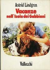 vacanze nell isola dei gabbiani - Astrid Lindgren - copertina rigida con sovracp
