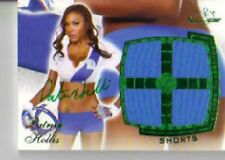 2011 Benchwarmer Patrica Hollis Autograph Shorts Card Green Foil Not Numbered