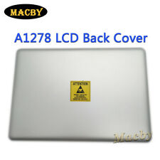 """Original For Macbook Pro 13"""" Unibody A1278 LCD Back Cover Top lid Case 2011 2012"""