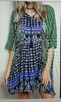 """dress tunic cover-up by VELZERA sz M but more like """"one size"""" NWT"""