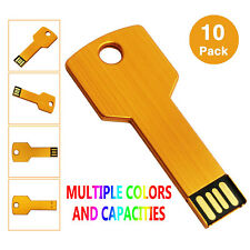 LOT 10 Key Model 1GB USB 2.0 Flash Drives Memory Stick Thumb Pen Drives Computer
