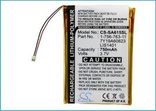 1-756-763-11 Battery for Sony NWZ-S616, NWZ-S616F, NWZ-S618, LIS1401, 7Y19A60823