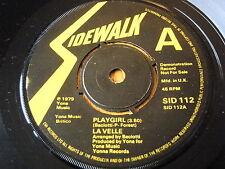 """La Velle-Playgirl demostración de vinilo de 7"""""""