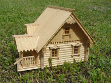 Guard house, 1:72 Scale, Construction kit, Wood model