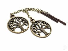 Bronze Tree of Life Dangle Chains For Magnetic Tunnels, Without Tunnels