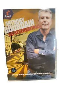 Anthony Bourdain: No Reservations - Collection 5, Part 2 (DVD, 2011, 3-Disc Set)