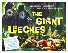 THE GIANT LEECHES (ATTACK OF) LOBBY CARD POSTER HS 1959 KEN CLARK YVETTE VICKERS