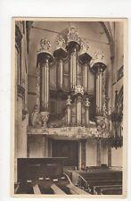 Dordrecht Orgel Groote Kerk Netherlands Vintage Postcard 136a
