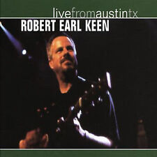 ROBERT EARL KEEN - Live From Austin TX - CD ** Very Good Condition **