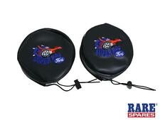 FORD XW XY FALCON GT SUPER ROO DRIVING LIGHT COVERS PAIR BRAND NEW RARE SPARES