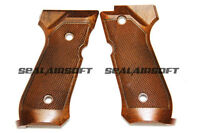 WE ABS Plastic Wood Grip Cover For WE M9 GBB - WE0111