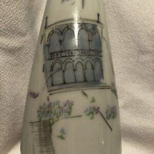Mid Century Rosenthal Vase Raymond Peynet Versailles Sleek Shape and Paris NR