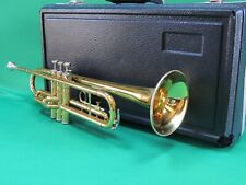 King 600🎺 TEMPO Trumpet EXTRAS Refurbished with MP and Hard Case USA Quality