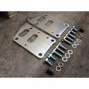 SBC Swap to LSX Motor Mount Bracket Kit Small Block Chevy Bolt-In LS Adapter 350