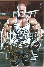 PHIL HEATH Signed PHOTO COA MR. OLYMPIA BODYBUILDING BODYBUILDER THE GIFT PROOF