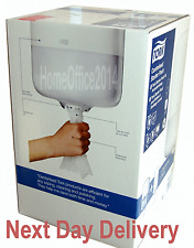 Tork Centre Feed Paper Towel Dispenser White + Hand Roll New Toilets Cloakroom