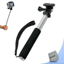 Compact 43 inch Handheld Monopod with 7 Extendable Sections for GoPro Hero Naked