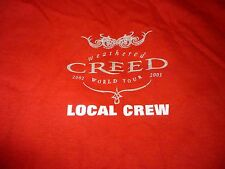 Creed Crew Rare Vintage Tour Shirt ( Szie Xl ) New Deadstock!