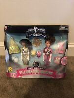 "Mighty Morphin Power Rangers Yellow Aisha & Pink Kimberly 9"" Dolls Movie Girls"