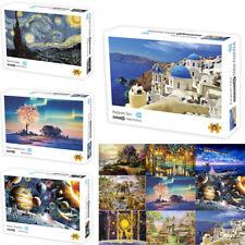 NEW Jigsaw Puzzle Landcape 1000 Pieces DIY Family Adult Kids Games Art Children