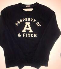 Abercrombie & Fitch Mens Long Sleeve Distressed Sweatshirt Shirt Size XL