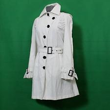 Erich Fend Trenchcoat Neu UVP 279€ Mantel Größe 38 / 40 - Weiß jacke