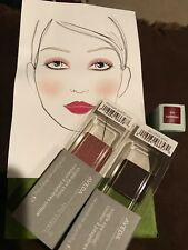 NEW TRIO SET Aveda Petal Essence Eye Color and Smoothing Lip Color Set of three