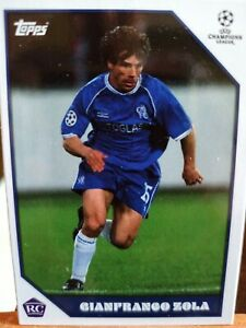 GIANFRANCO ZOLA - Chelsea – Topps Now - The Lost Rookie Cards