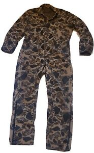 Walls Blizzard-Pruf Insulated Camouflage COVERALLS sz LARGE