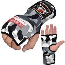 Inner Hand WRAPS Gloves Boxing GEL PADDED FIST Bandages MMA Gel Muay Thai CAMO