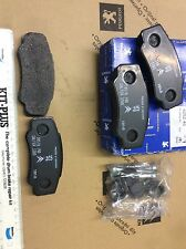 genuine peugeot boxer citroen relay rear brake pads brembo 425246 425468