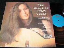 JULIE FELIX The World Of Julie Felix / UK LP 1969 DECCA SPA 6