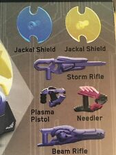 Megablocks Halo Covenant Weapons Pack With Beam Rifle / Plasma Pistol / Shields