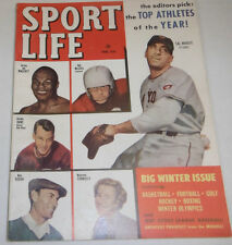 Sport Life Magazine Joe Walcott & Sal Maglie February 1952 W/ML 072814R