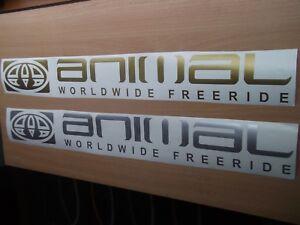 Mitsubishi ANIMAL Worldwide Freeride  Decal Sticker x2.....