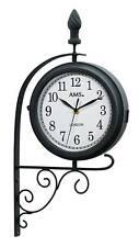AMS 9433 - Wanduhr - Metall - Gartenuhr - Aussenuhr - Uhren Neu