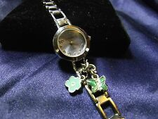 Woman's Overload Watch with Charms on Band **Nice** B37-673
