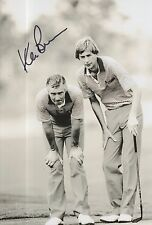 KEN Brown Firmato a Mano 12x8 photo RYDER CUP 1.