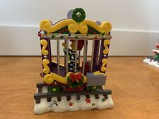 """Simpsons Christmas Express Collection """"Carol Of The Bar� Train Car Statue - 2004"""