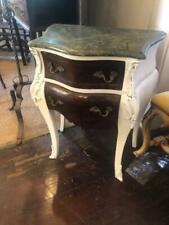 Antique Style French Style Marble Top Night Stand