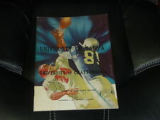 1967 CHATTANOOGA AT TAMPA COLLEGE FOOTBALL PROGRAM  EX