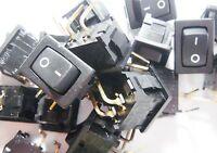 10 Stück Wippschalter Schalter 1xEIN-AUS 250V 6A Marquardt #9S41#