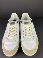 Lacoste Casini Spm Shoes Size 12 White/beige Blue Logos. Clean. Hardly Worn.