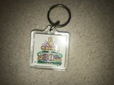 Four Queens Hotel Casino 30th Anniversary Key Chain Las Vegas Nevada 1966-1996