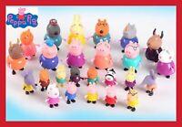 SET LOT 25 FIGURINE PEPPA PIG GEORGES COCHON JEU JOUET ENFANT MAMAN PAPA SUZY
