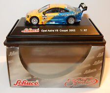 MICRO METAL SCHUCO HO 1/87 OPEL ASTRA V8 COUPE 2002 SERVICE FIT REF 21651 IN BOX