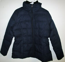 NEW Ladies' Weatherproof Down Feather Filled Jacket (NAVY, SMALL) #DR