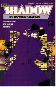 THE SHADOW MINI SERIES #4 (FN) 1986 Howard Chaykin