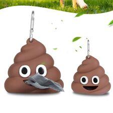 Funny Outdoor Portable Pet Poo Bag Waste Poop Bag Dispenser Holder Great qa3