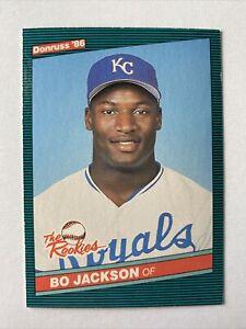 1986 Donruss The Rookies Bo Jackson Rc #38